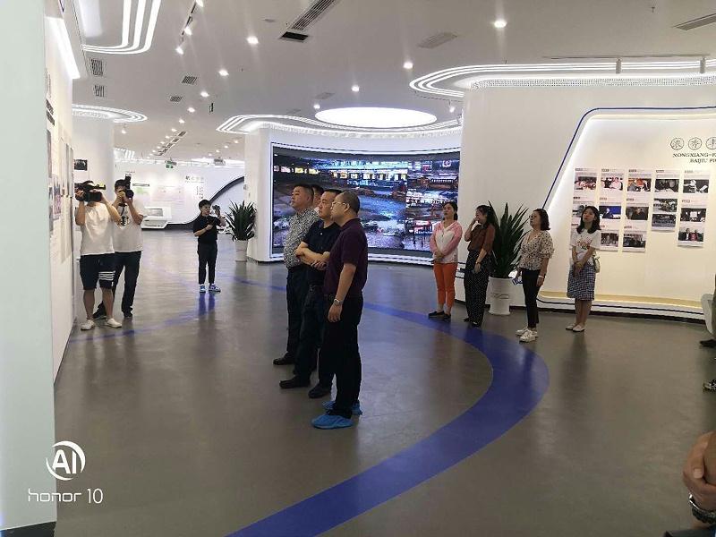 泸州老窖多媒体展厅