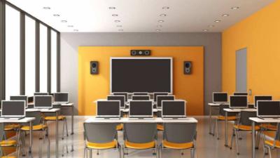 多媒体教室里存在的设备